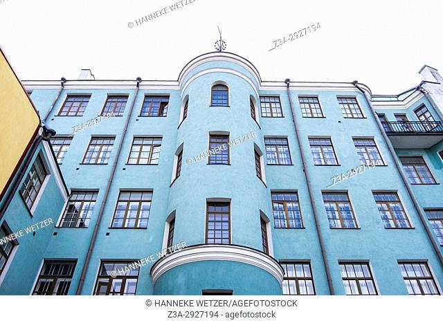 Historical mansions in Tallinn, Estonia, Europe