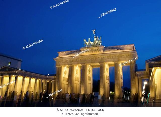 Brandenburger Tor, Pariser Platz, Berlin, Germany