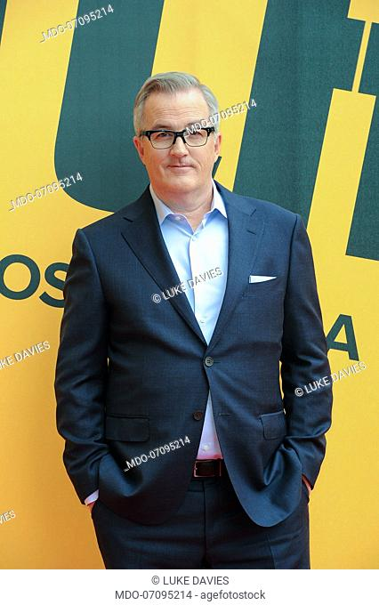 Australian screenwriter Luke Davies attends the Sky TV series Catch-22 photocall. Rome (Italy), May 13th, 2019