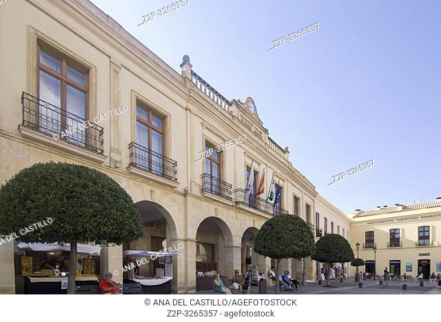 State run hotel Parador in Ronda on October 9, 2017, Andalusia, Spain