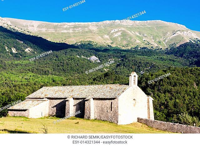 Chapel Notre-Dame near Vergons, Provence, France