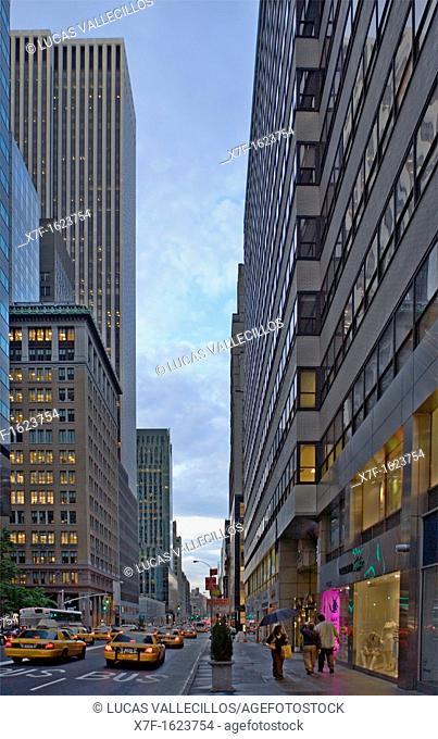 Madison Avenue, New York City, USA