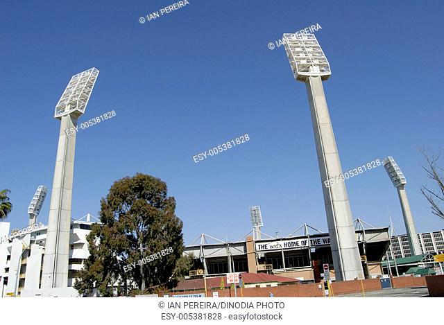 Lights at WACA cricket ground ; Perth ; Australia
