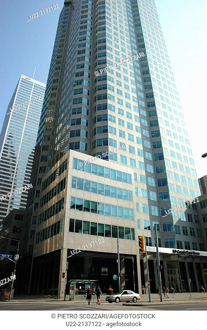 Toronto Canada: TD Bank's skyscraper
