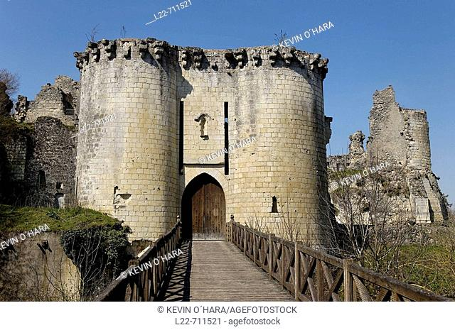 The remains of the Chateau de Lavardin stand on a rocky promontory, above the village and the Loir. Built starting from the beginning of the 11th century by the...