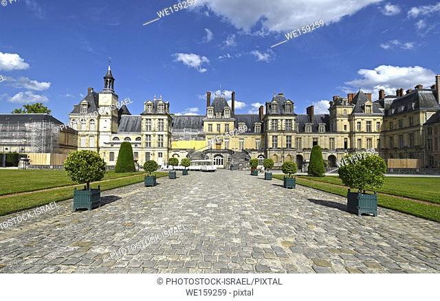 Palace of Fontainebleau (Chateau de Fontainebleau), France