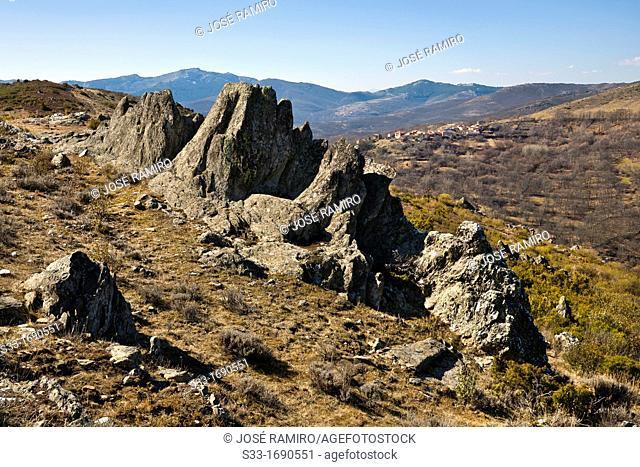 Bocígano and the Sierra Norte  Guadalajara  Castilla la Mancha  Spain
