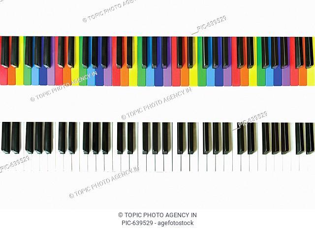 Keyboard,Rainbow