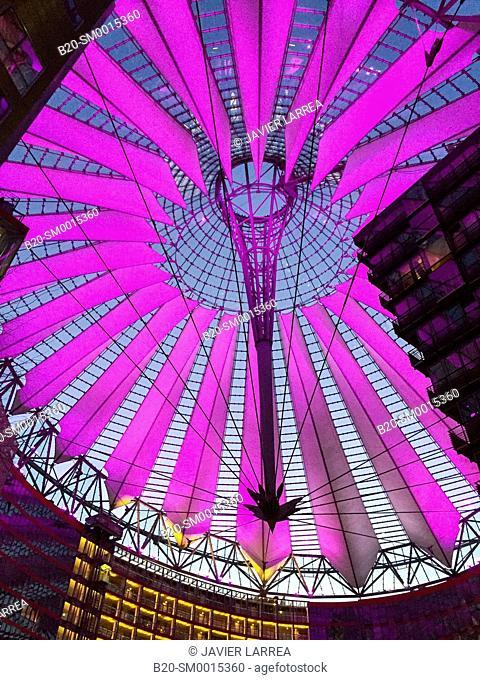 Sony Center, Potsdamer Platz, Berlin, Germany
