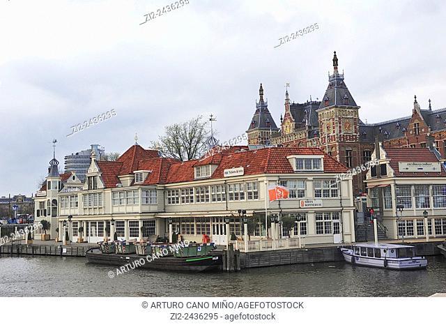 Central Station. Amsterdam, Netherlands