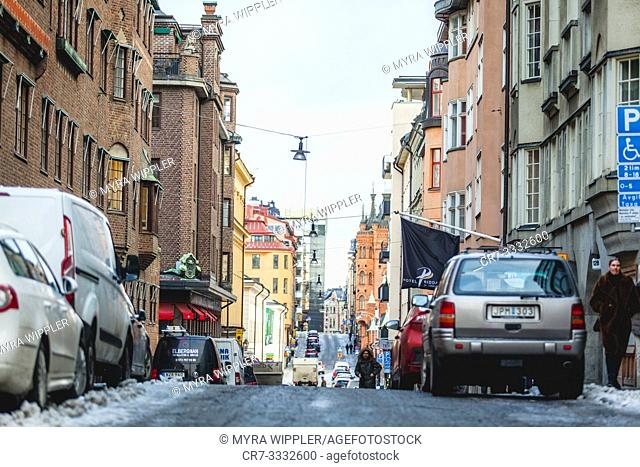Streetview of Stockholm