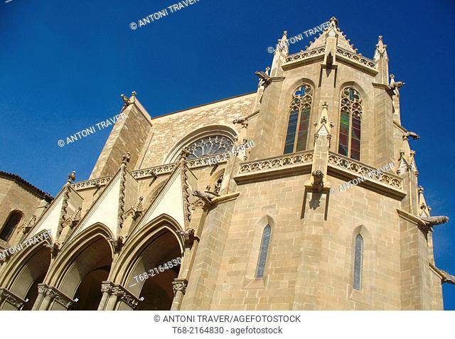 Manresa Cathedral, Barcelona, Spain