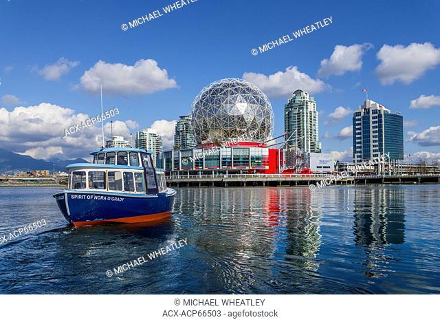 Passenger ferry, False Creek, Vancouver, British Columbia, Canada