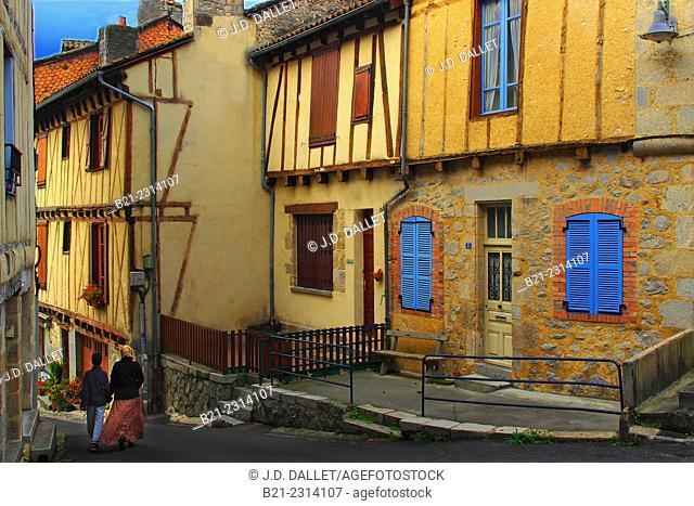 Merle area, La Roquebrou, Cantal, Auvergne, France