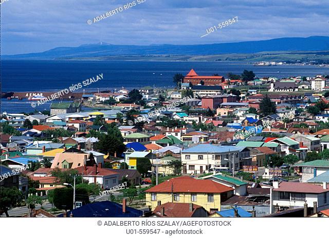 Punta Arenas, capital of Magallanes. Patagonia, Chile