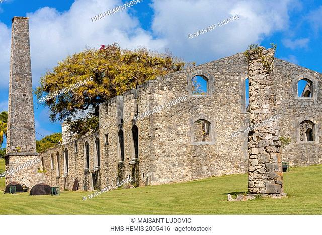 France, Guadeloupe (French West Indies), Marie Galante, Grand Bourg, Murat Castle (Habitation Murat) is a former sugar estate founded in the early 19th century