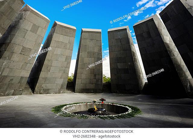 Armenian Genocide memorial complex in Yerevan, Armenia