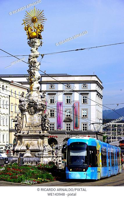 Hauptplatz, Main Square, Linz, Austria