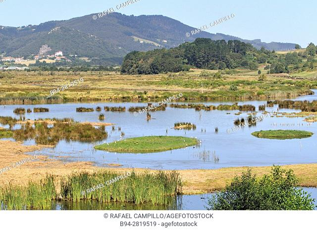 View from Urdaibai Bird Center living museum of nature. Provides an excellent view point from which visitors can enjoy the world of birds and their migratory...