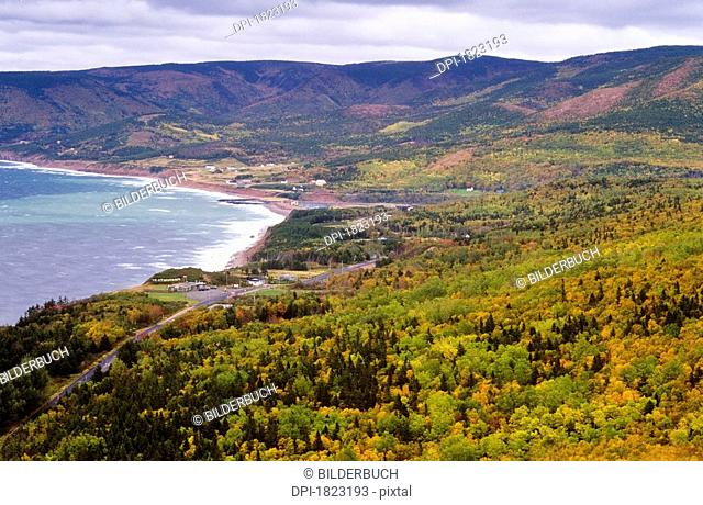 Pleasant Bay, Cape Breton Highlands National Park, Nova Scotia, Canada