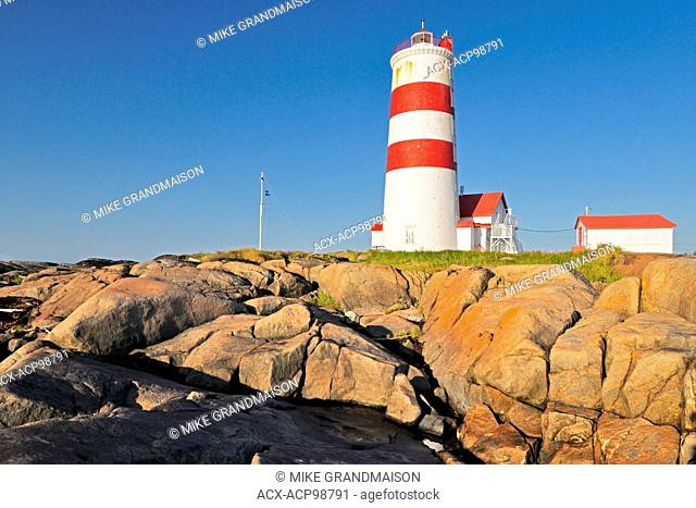 Pointe des Monts Lighthouse Pointe des Monts Quebec Canada