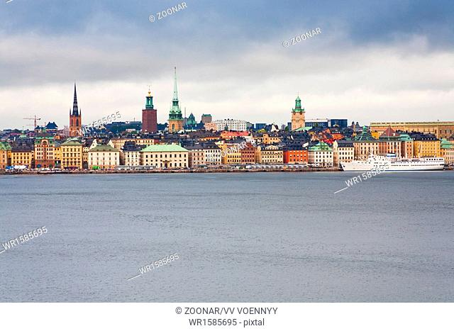 view on Gamla Stan, Stockholm
