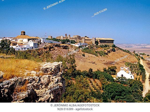 'Alzacazar del Rey Don Pedro'. Parador de Turismo (state-run hotel) of Carmona. Sevilla province, Andalusia, Spain