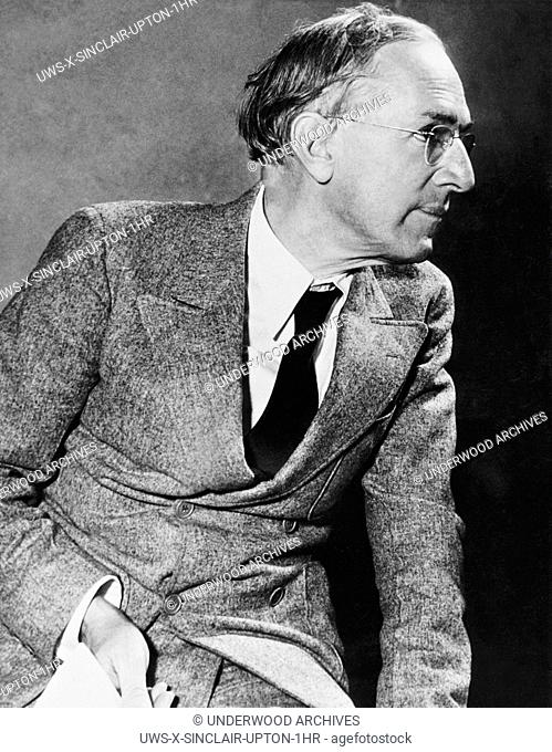 California: c. 1934.A profile of author and California Democratic candidate for governor, Upton Sinclair