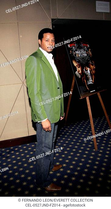 Terrence Howard at arrivals for Hustle & Flow Screening, MGM Screening Room, New York, NY, Monday, June 27, 2005. Photo by: Fernando Leon/Everett Collection