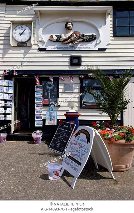 Beachside Shop, Broadstairs, Kent, England