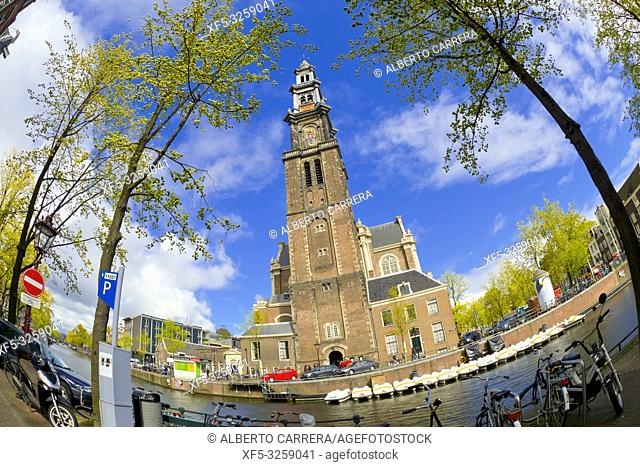 Westerkerk, Dutch Protestant Church, Amsterdam, Holland, Netherlands, Europe