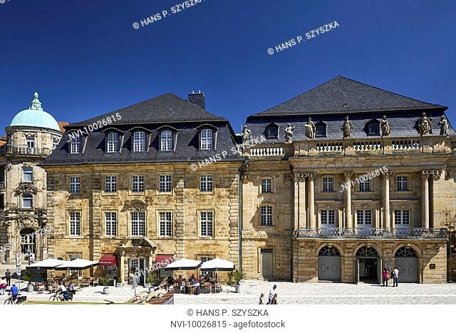 Margravial Opera House in Bayreuth, Upper Franconia, Bayern, Germany