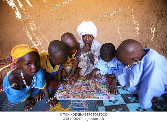 Displaced people in Darfur  A war in darfur has let to 2 million people displaced refugees and over 300,000 people dead  The conflict is between the islamic...