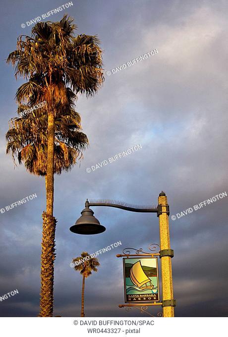 Santa Barbara Harbor Sign