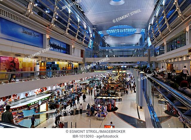 International airport, Emirate of Dubai, United Arab Emirates, Arabia, Near East