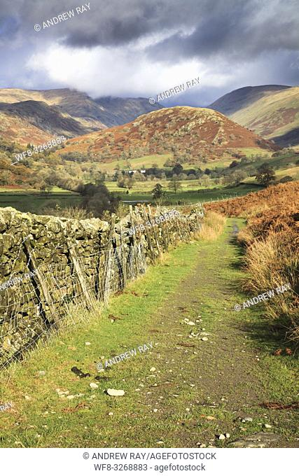 The Tongue in the Toutbeck Valley in the Lake District National Park, captured in early November from the public footpath that runs along the eastern side of...