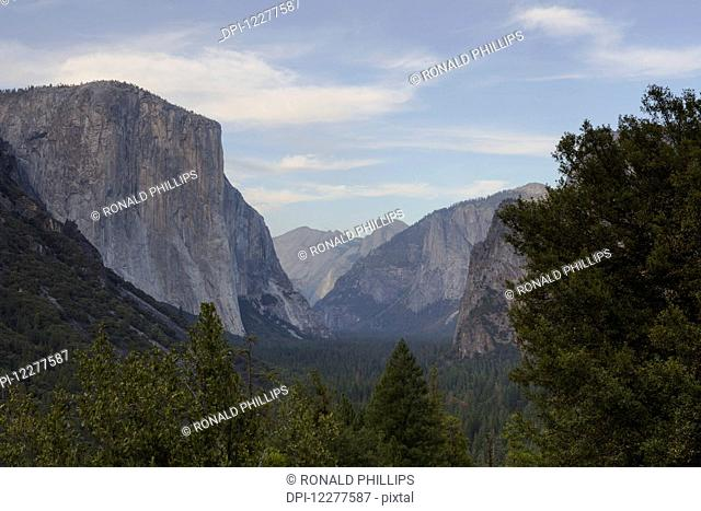 Yosemite Valley from Tunnel View, Yosemite National Park; California, United States of America