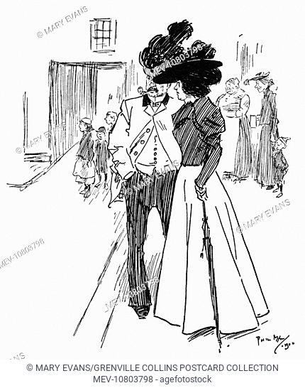 One Easter Monday. 'Arriet (watching the funeral of 'Liza) - Nice sort of Bank 'Oliday for 'er, poor dear!