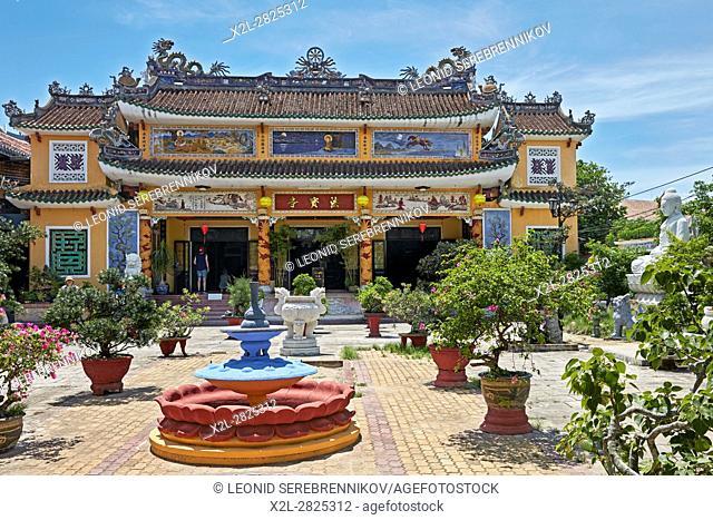 Chua Phap Bao Pagoda. Hoi An Ancient Town, Quang Nam Province, Vietnam
