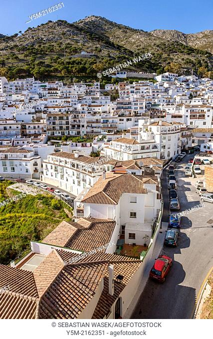 The old town of Mijas in Costa del Sol, Malaga Province, Andalusia, Spain