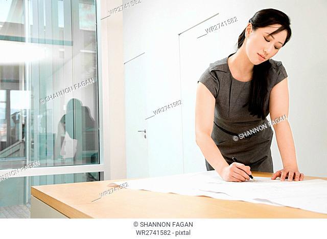 Chinese female architect