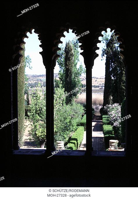 Toledo, Palacio Galiana/Durchblick, 11. Jh