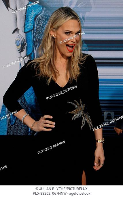 """Molly Sims 03/22/2017 """"""""Power Rangers"""""""" Premiere held at the Westwood Village Theater in Westwood, CA Photo by Julian Blythe / HNW / PictureLux"""