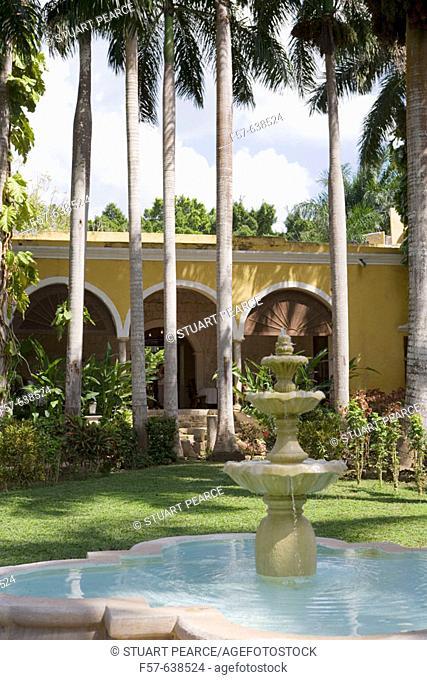 Hacienda Chichen. Chichen Itza. Yucatan. Mexico