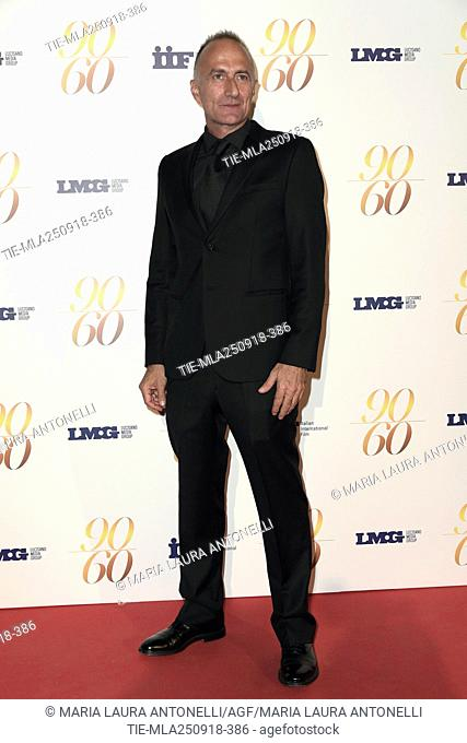 Director Stefano Sollima during red carpet of 60/90 party, for 60 years of career and ninetieth birthday of Fulvio Lucisano, Italian Film Producer