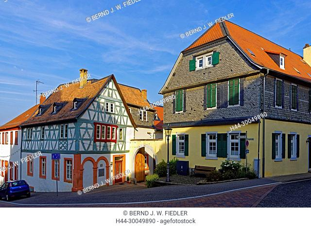 House of the Diakonie, half-timbered house, Kirchheimbolanden Germany