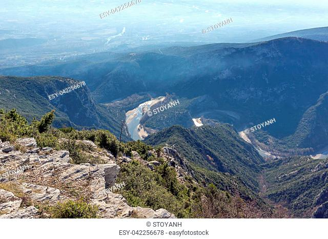 Nestos Gorge near town of Xanthi, East Macedonia and Thrace, Greece