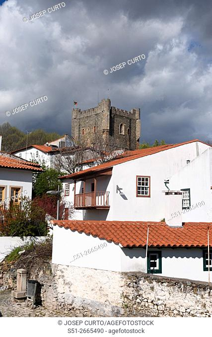 Castle and fortress, Bragança, Tras os Montes, Portugal