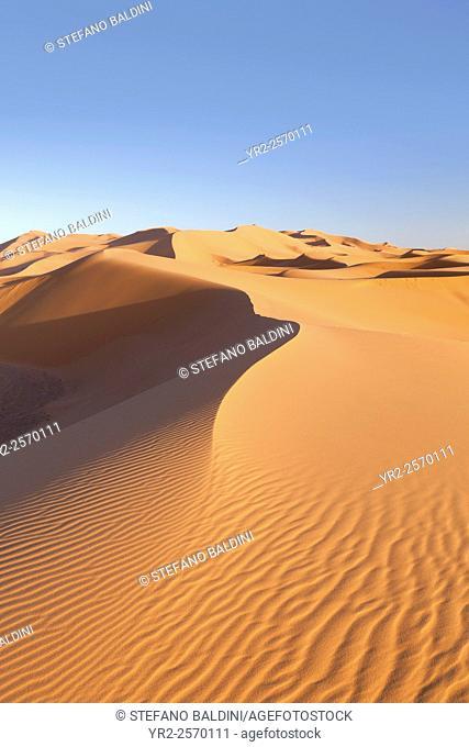 Sand dunes, Erg Chebbi, Merzouga, Sahara desert, Morocco