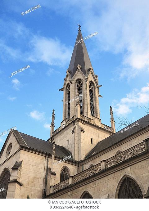 Eglise Saint Georges, Lyon, Auvergne-Rhone-Alps, France